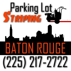 Parking Lot Striping Baton Rouge Louisiana