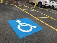 Handicap Striping in Baton Rouge, LA